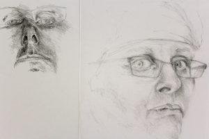 רישום בעיפרון- סקיצות מהירות