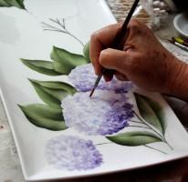 ציור על פורצלן